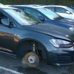 Come non farsi rubare le ruote dell'auto