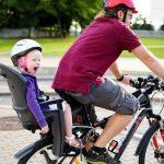 Come scegliere un seggiolino bici per bambino