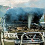 Come raffreddare il motore se la sua temperatura sale troppo?