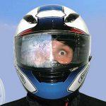 Come evitare l'appannamento della visiera del casco