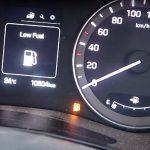 Che succede se l'auto finisce la benzina?